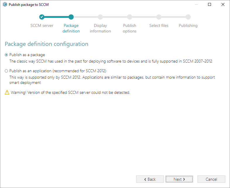 Deploying MSI package to SCCM | PACE Suite
